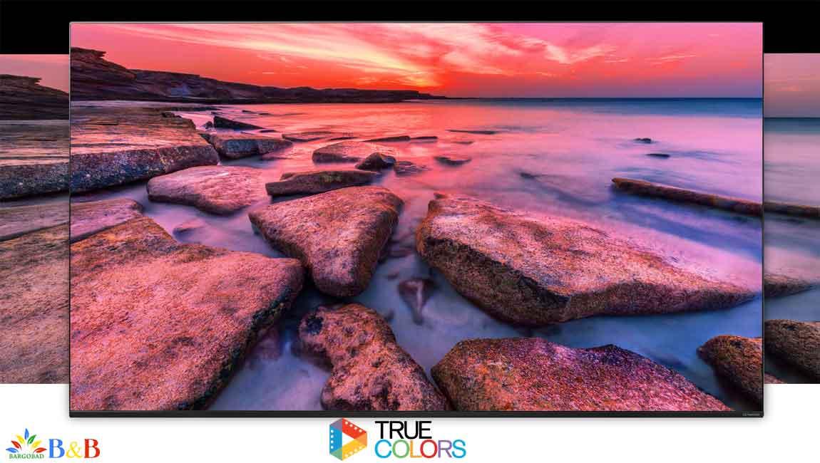 دامنه ی رنگبندی در تلویزیون ال جی NANO90