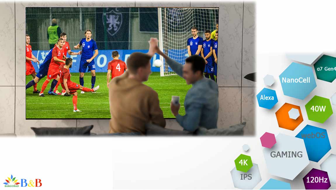 تلویزیون ال جی NANO90