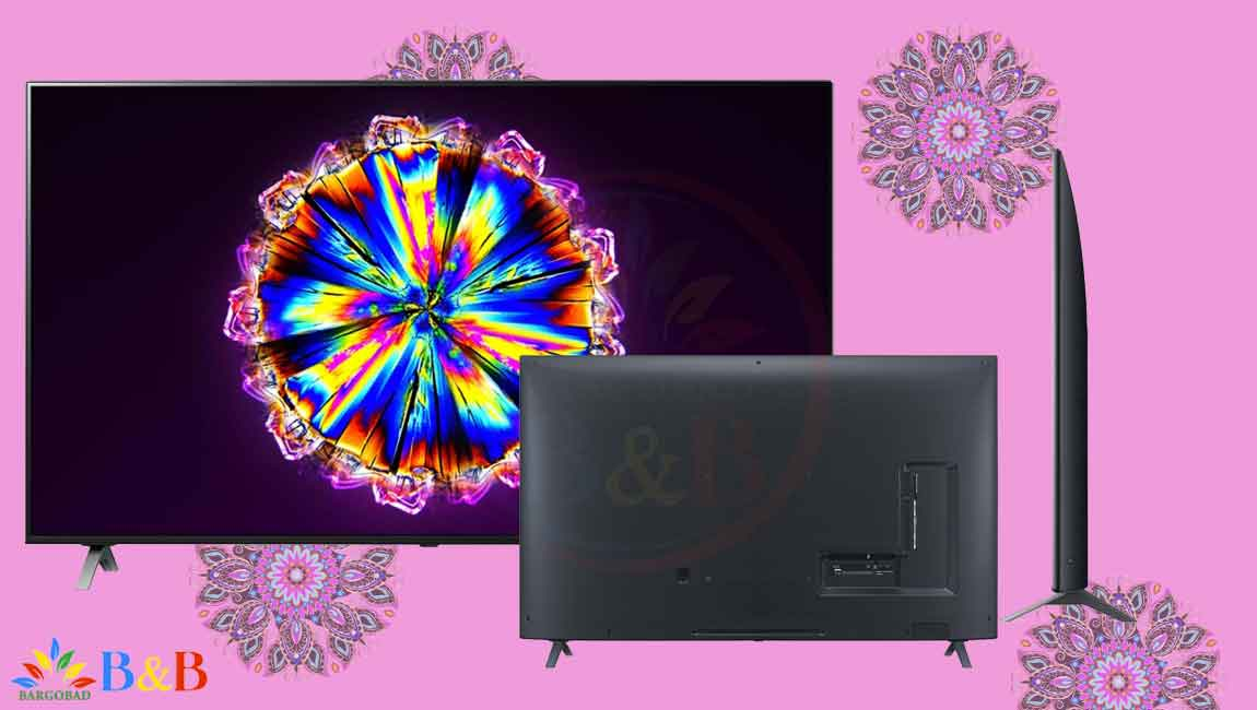 طراحی تلویزیون 55 اینچ ال جی NANO90