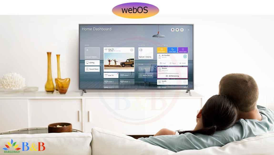 امکانات هوشمند تلویزیون 55 اینچ ال جی NANO90