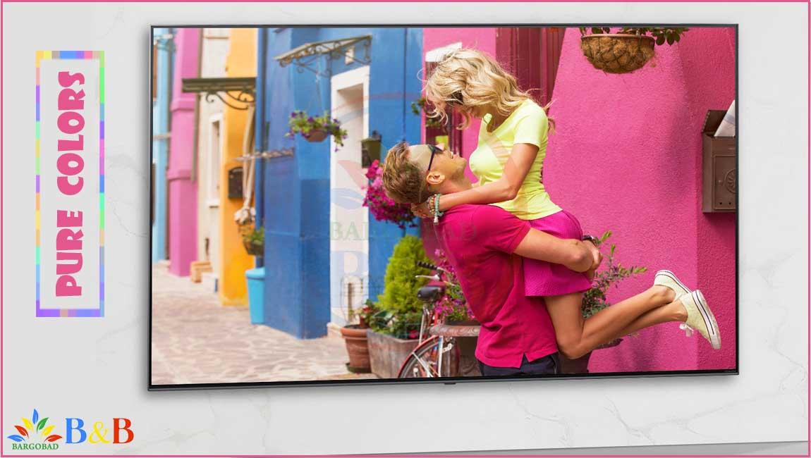 رنگ های خالص تلویزیون 65 اینچ ال جی NANO95