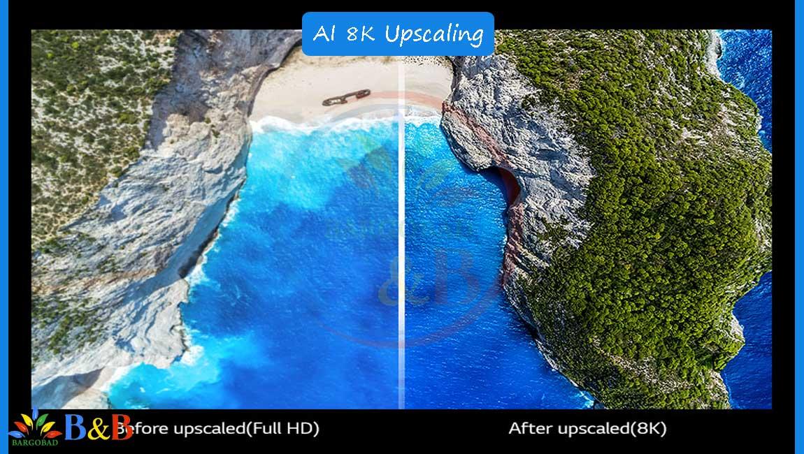 قابلیت ارتقای تصویر در تلویزیون NANO95