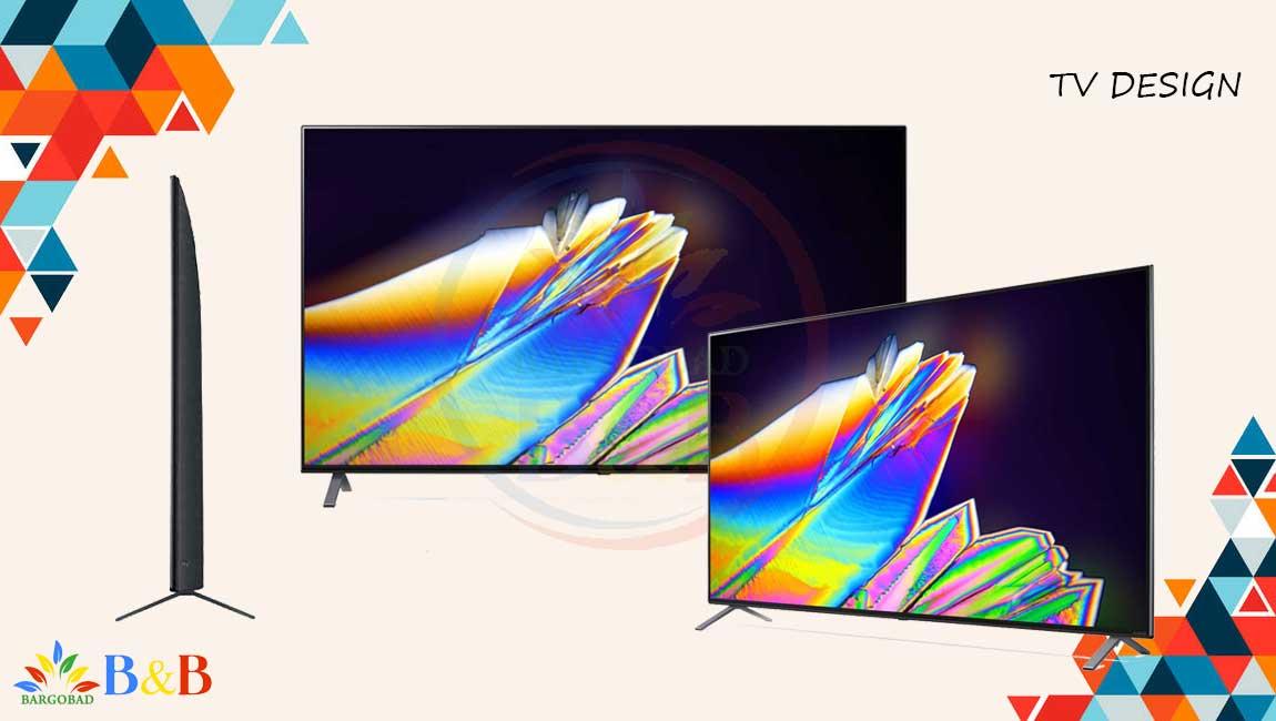 طراحی تلویزیون 65 اینچ ال جی NANO95