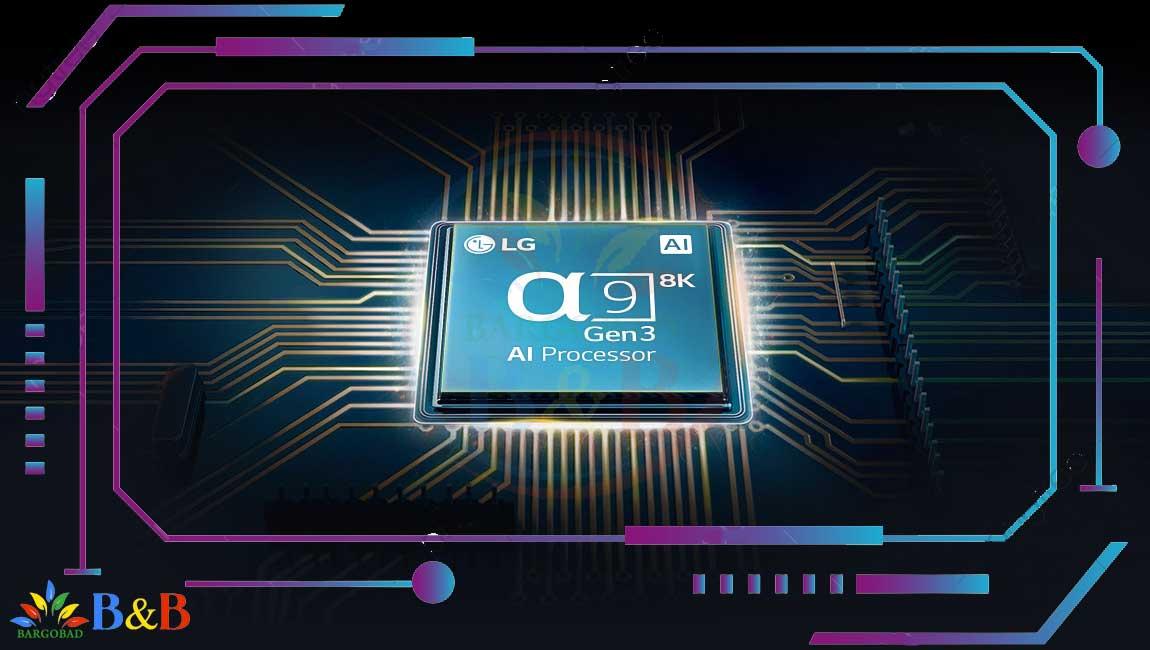 پردازنده تلویزیون 65 اینچ ال جی NANO95
