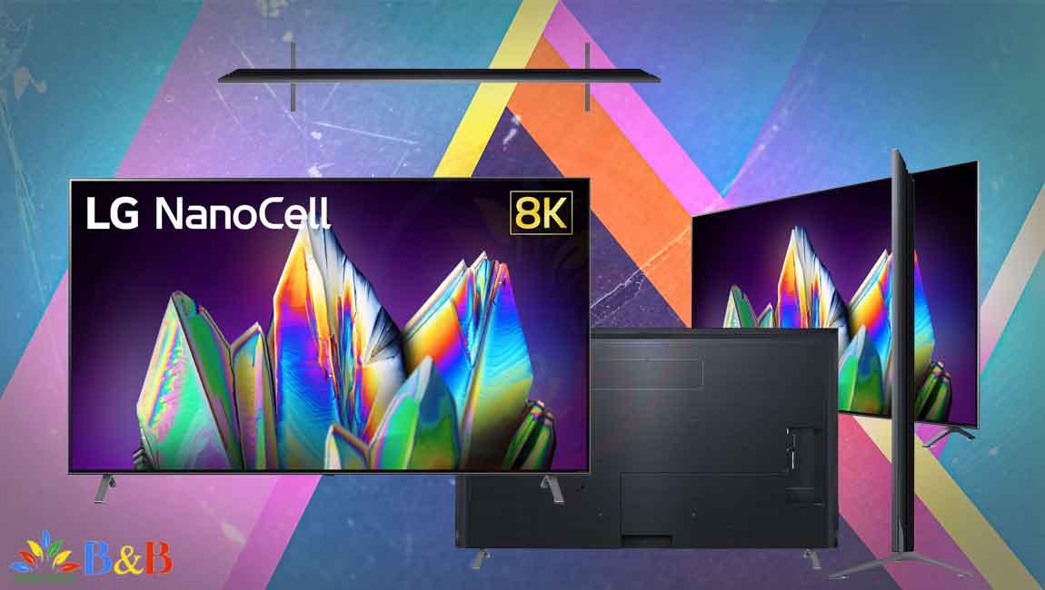 طراحی تلویزیون 65 اینچ نانوسل ال جی NANO99