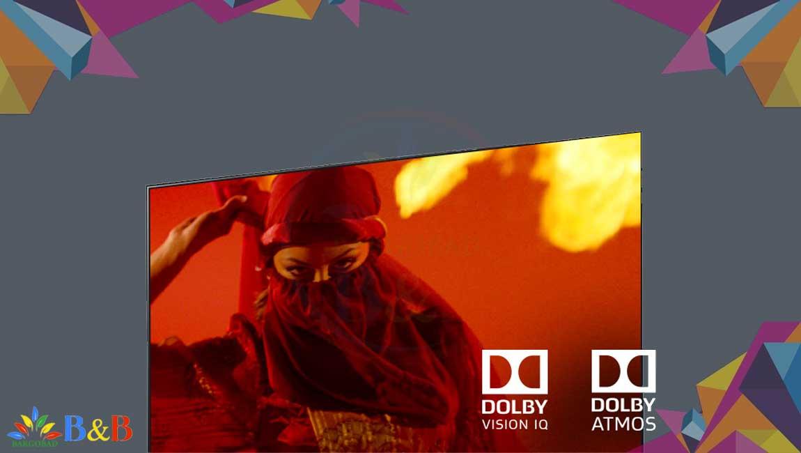 دالبی ویژن در تلویزیون 65 اینچ نانوسل ال جی NANO99