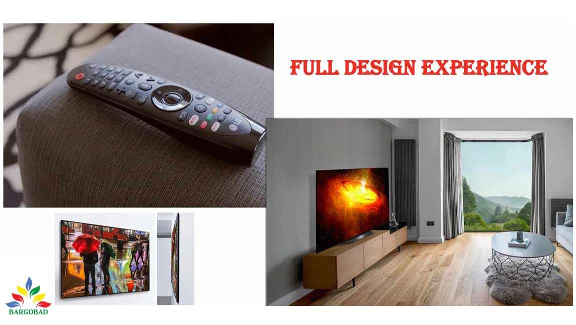 طراحی تلویزیون ال جی BX
