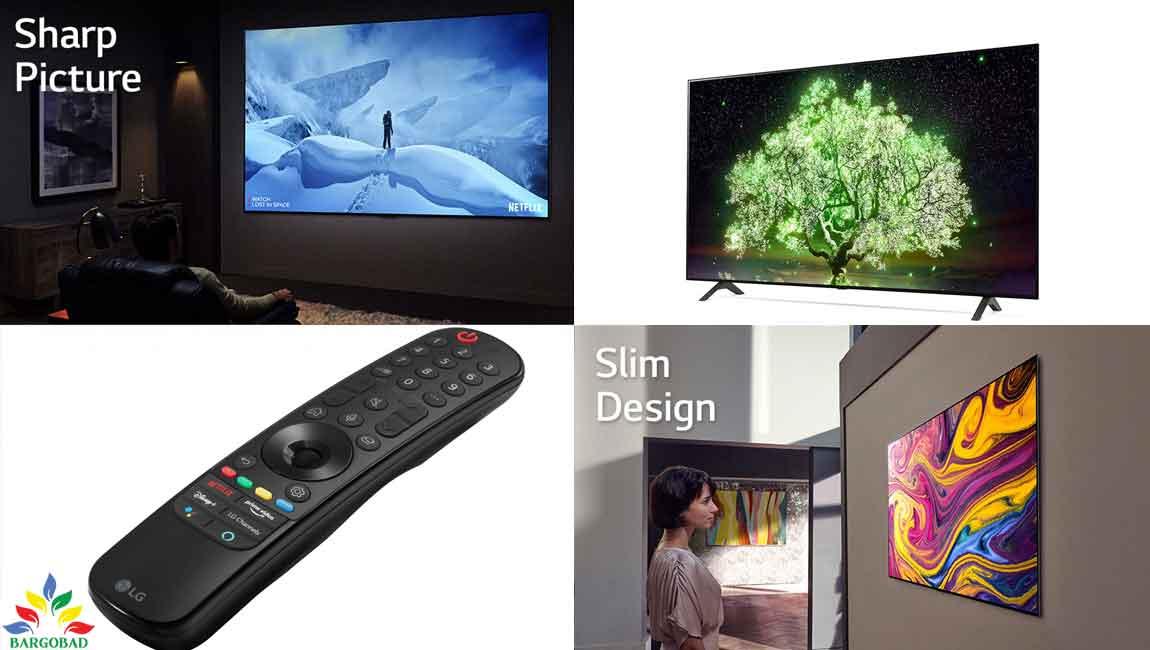 طراحی تلویزیون اولد ال جی A1