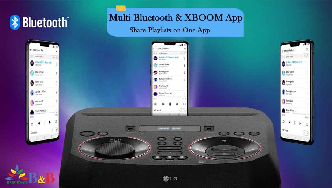 سیستم صوتی ON7 با برنامه XBOOM