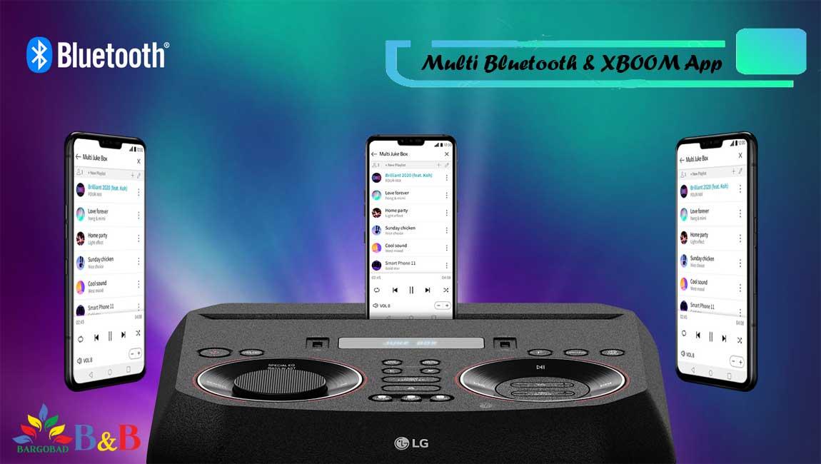 قابلیت Multi Bluetooth و XBOOM App