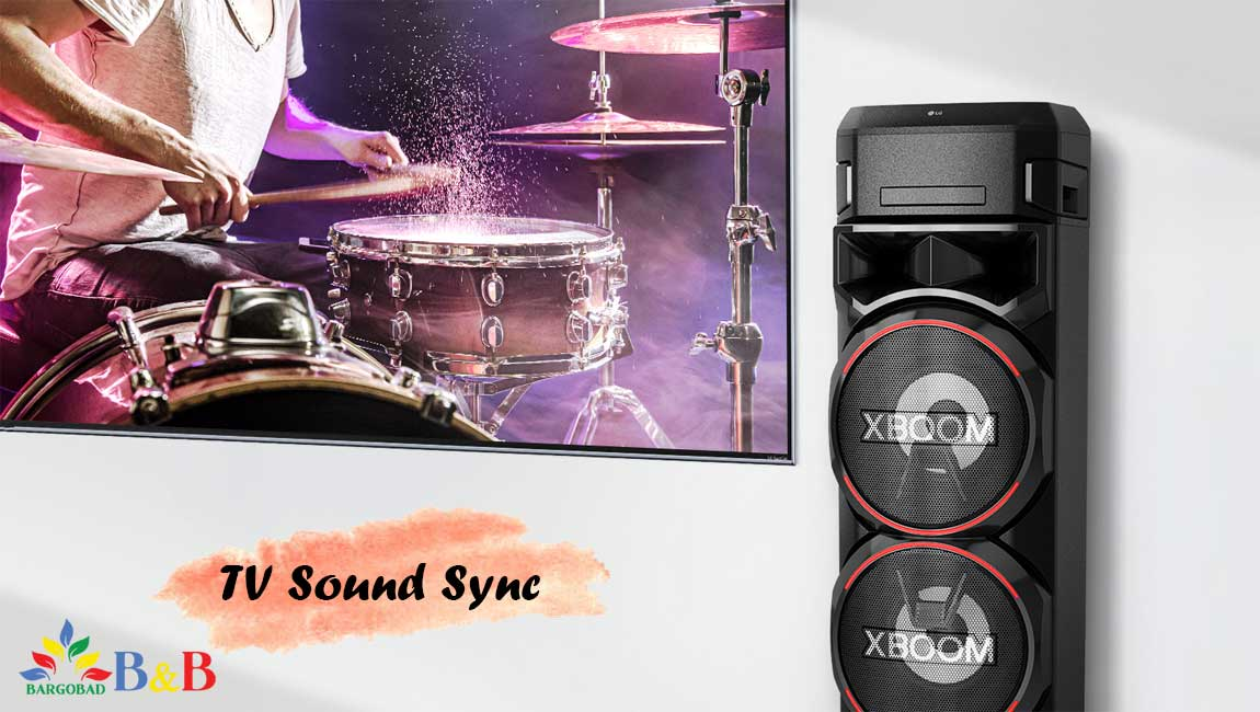 قابلیت کاربردی TV Sound Sync