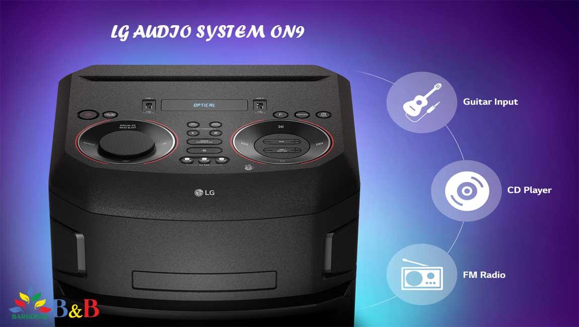 اتصالات سیستم صوتی ال جی ON9