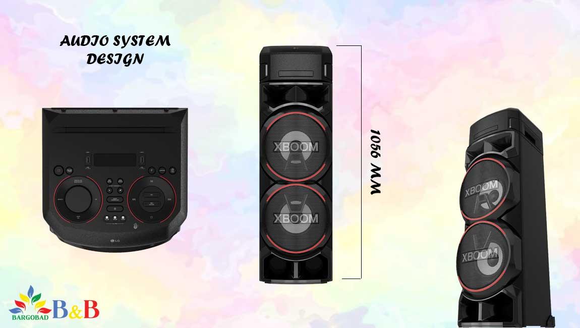 طراحی سیستم صوتی ON9