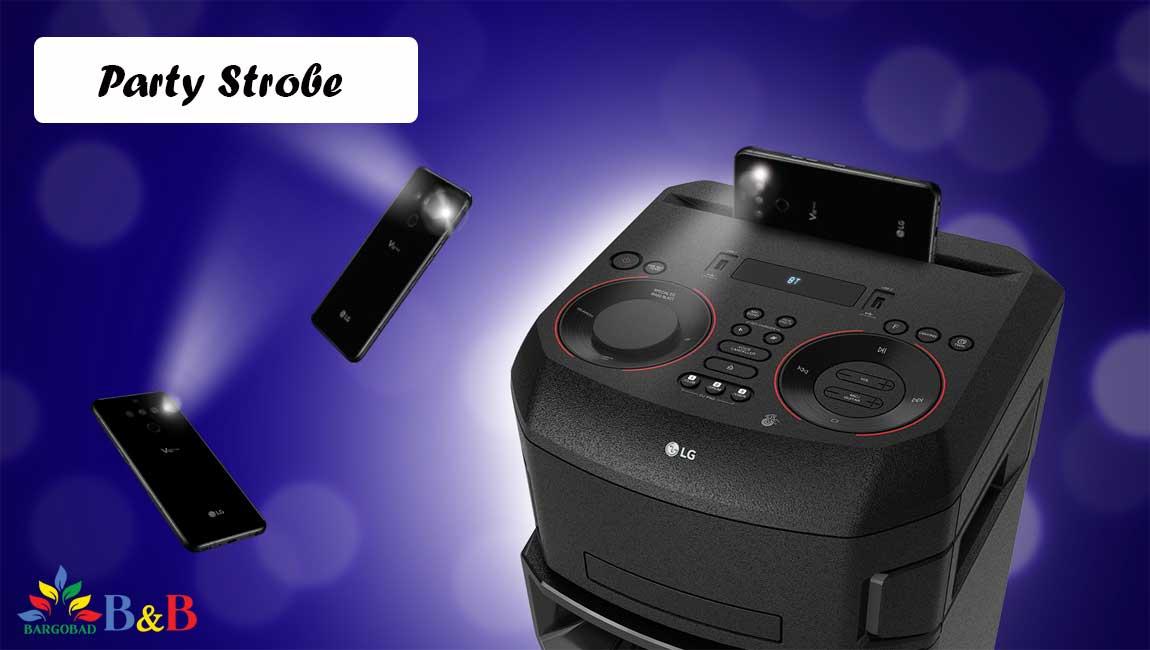 قابلیت Party Strobe در سیستم صوتی ON9