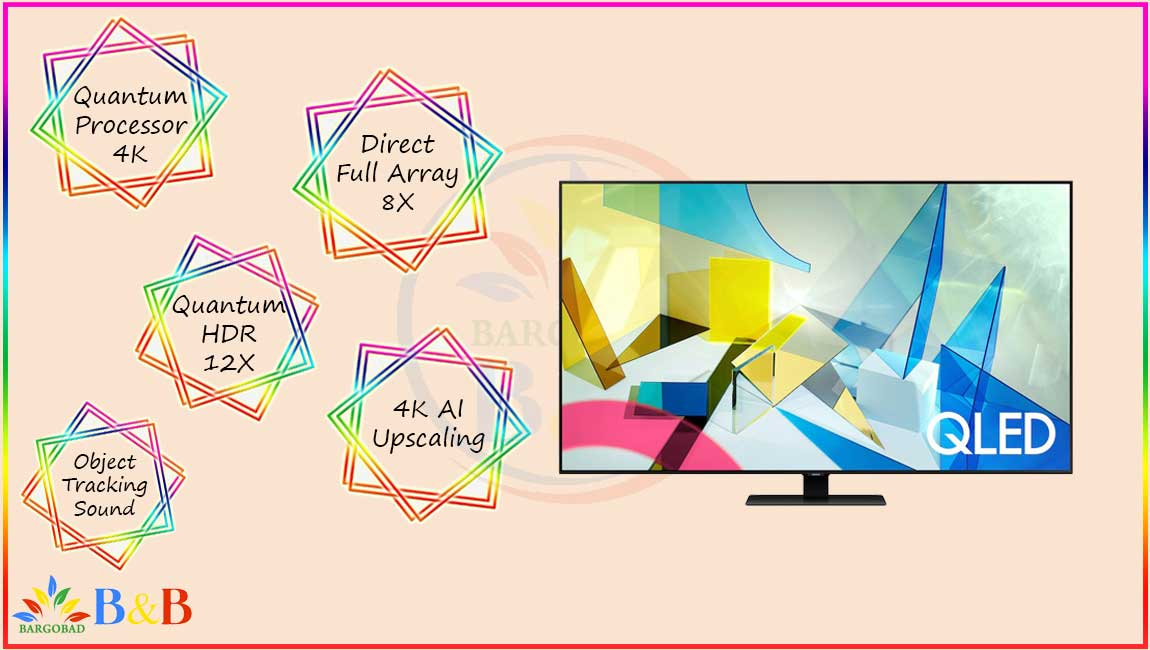 تلویزیون سری 8 سامسونگ Q80T