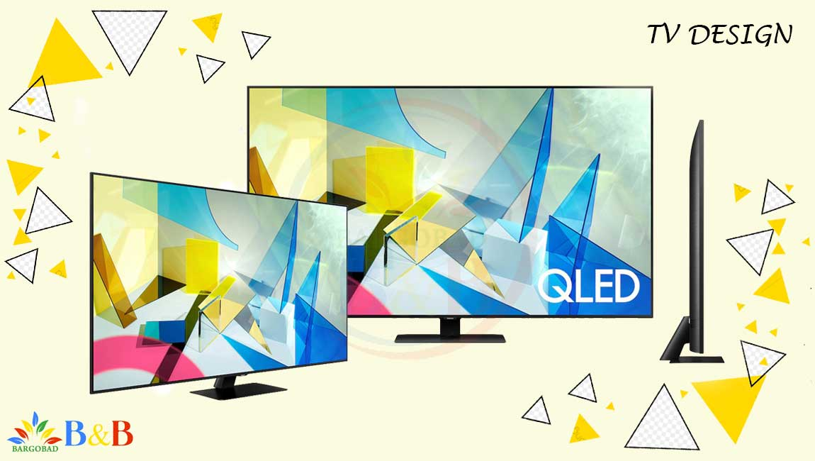 طراحی تلویزیون سامسونگ Q80T