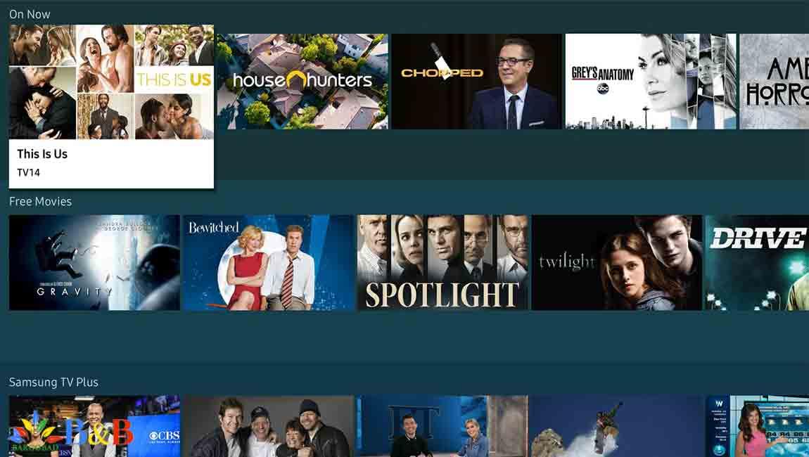 امکانات هوشمند در تلویزیون سامسونگ Q95T
