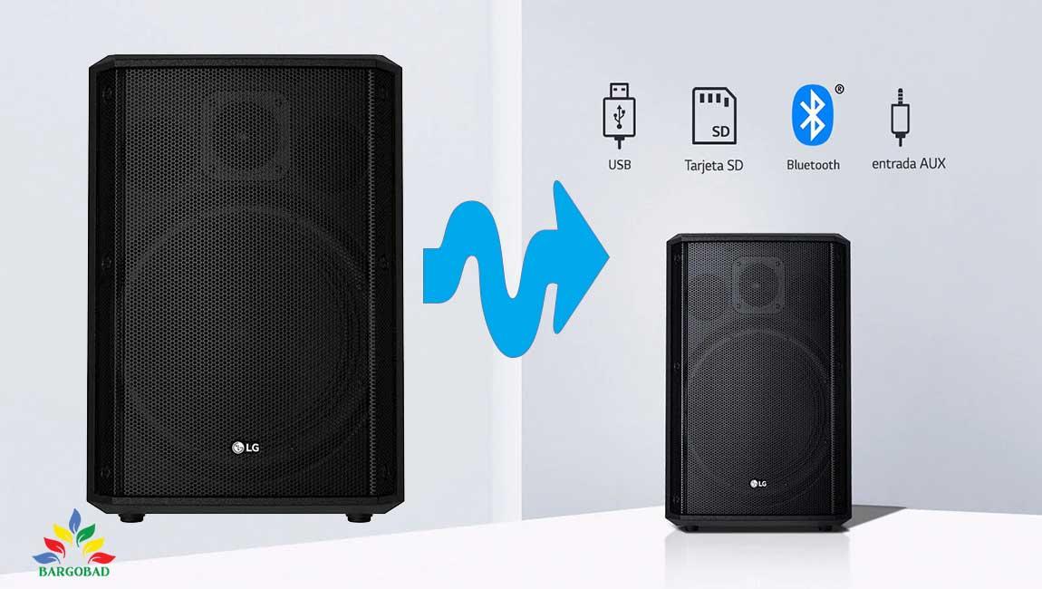 درگاه های ارتباطی با سیستم صوتی RM2