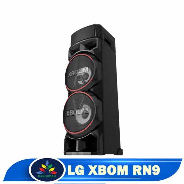 نمای کناری سیستم صوتی ال جی XBOM RN9