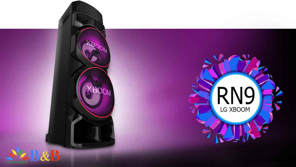 معرفی سیستم صوتی ال جی RN9