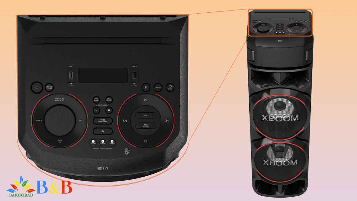 طراحی سیستم صوتی ال جی RN9