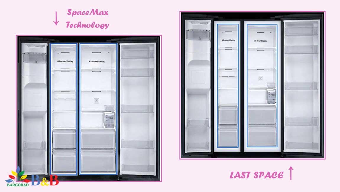 طراحی داخلی یخچال RS64