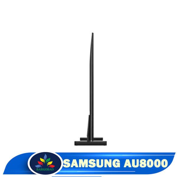 ضخامت تلویزیون AU8000