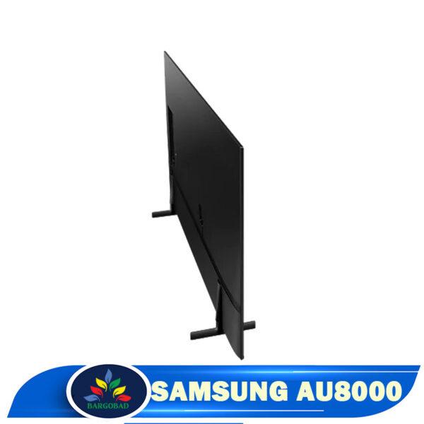 نمای پشت تلویزیون AU8000 سامسونگ