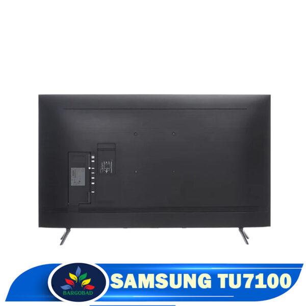 نمای پشت تلویزیون سامسونگ TU7100