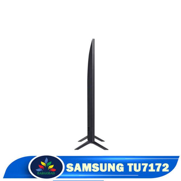ضخامت تلویزیون سامسونگ TU7172