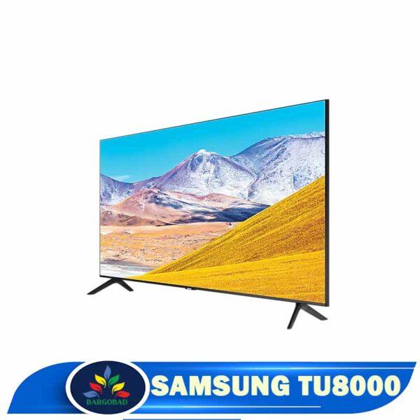 زاویه دید تلویزیون سامسونگ TU8000