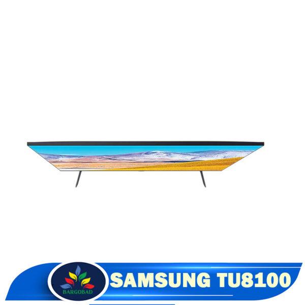 نمای بالا تلویزیون سامسونگ TU8100