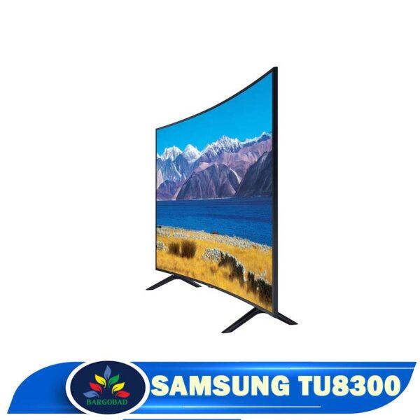 زاویه دید تلویزیون سامسونگ TU8300