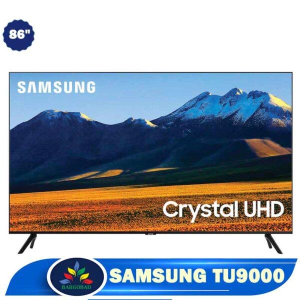 تلویزیون 86 اینچ سامسونگ TU9000 مدل 2020