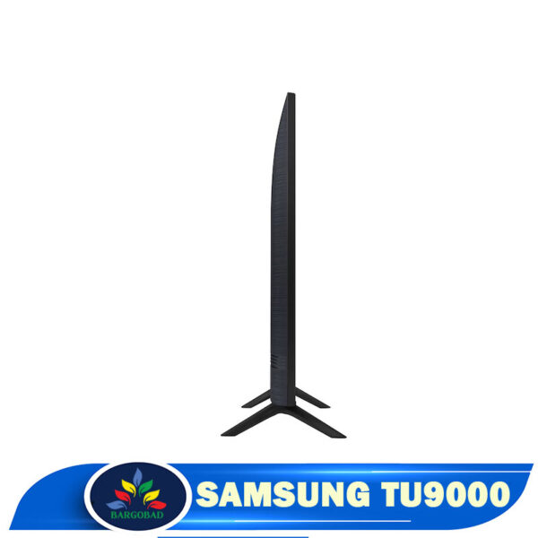 ضخامت تلویزیون سامسونگ TU9000 مدل 2020