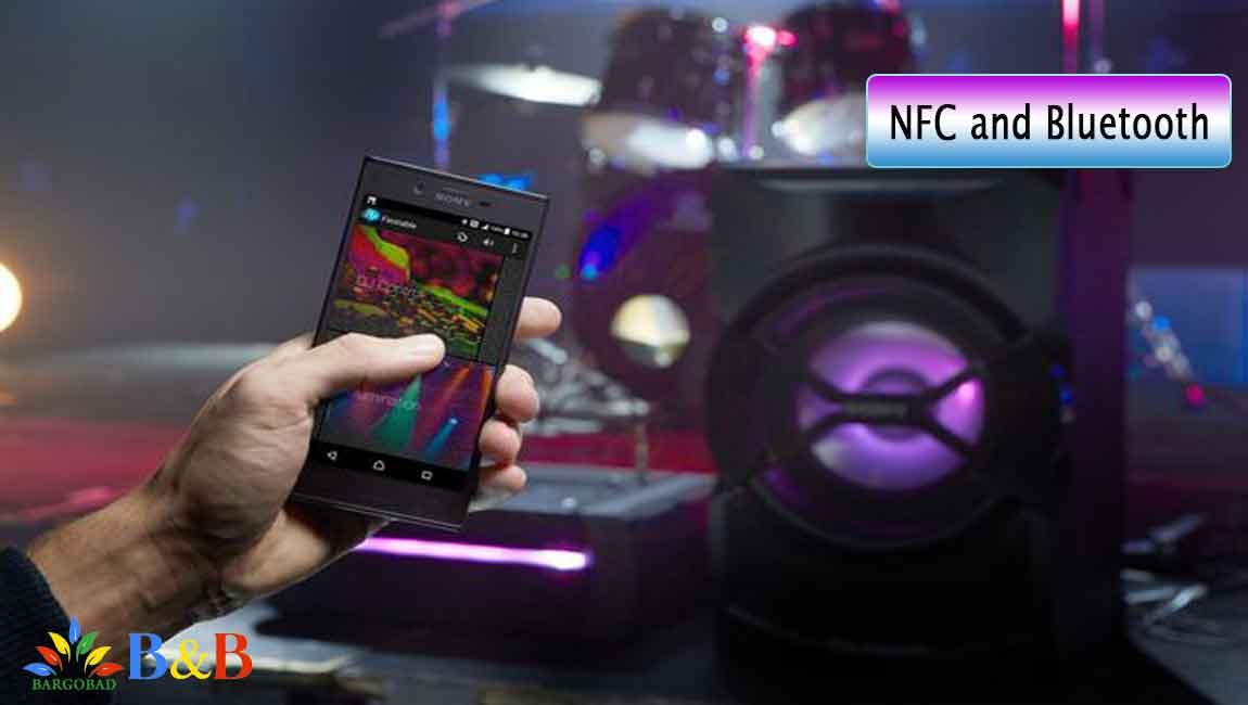 NFC و بلوتوث در شیک سونی X10