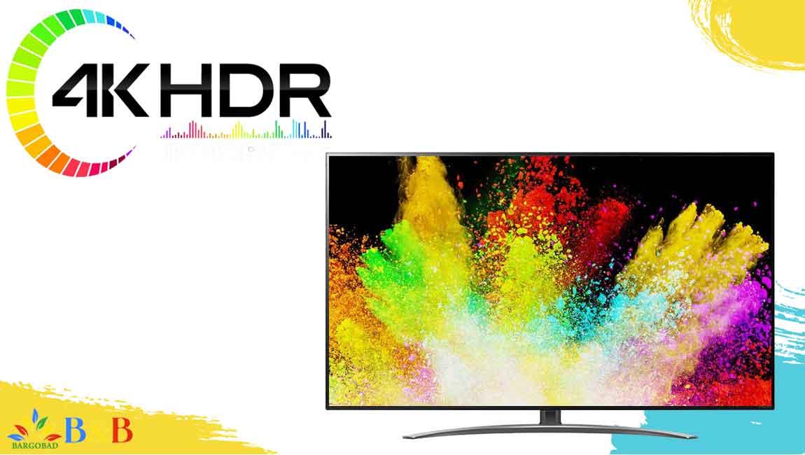 HDR در تلویزیون ال جی SM8600