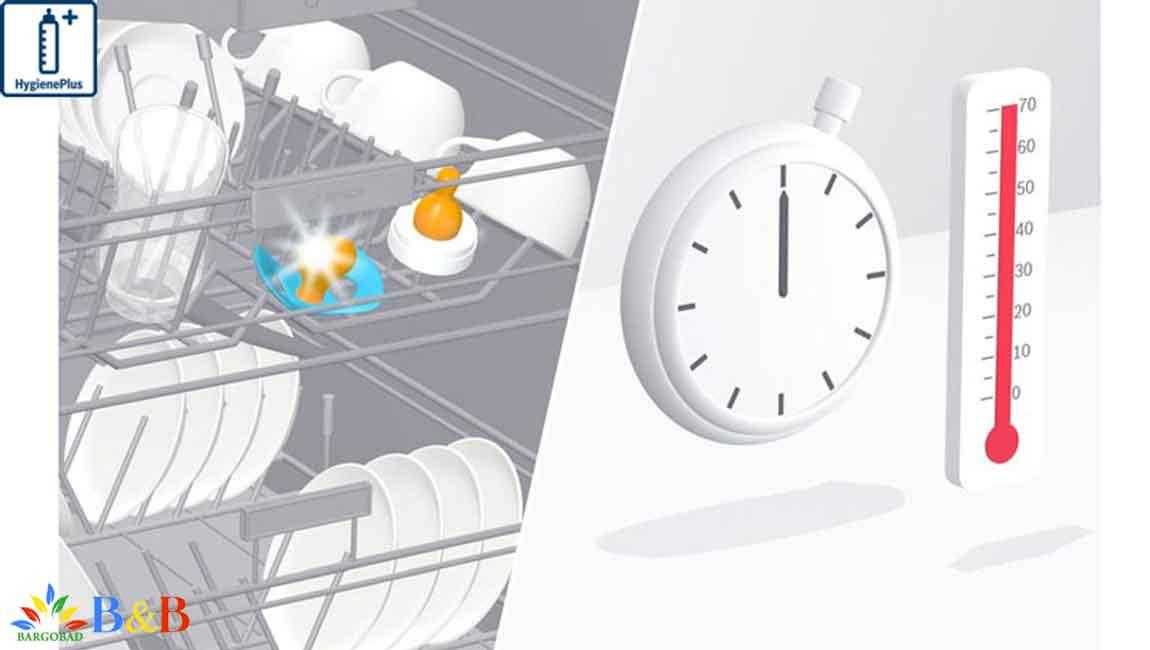 برنامه HygienePlus در ظرفشویی SMS46MW03E