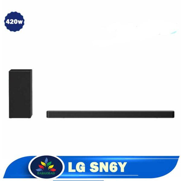 سیستم صوتی ساندبار ال جی SN6Y