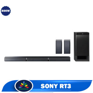 سیستم صوتی ساندبار سونیRT3 توان صوتی 600 وات