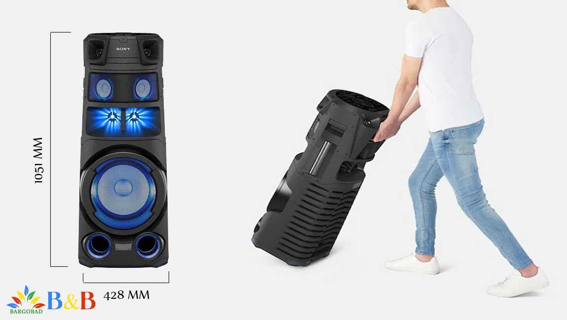 طراحی سیستم صوتی سونی V83