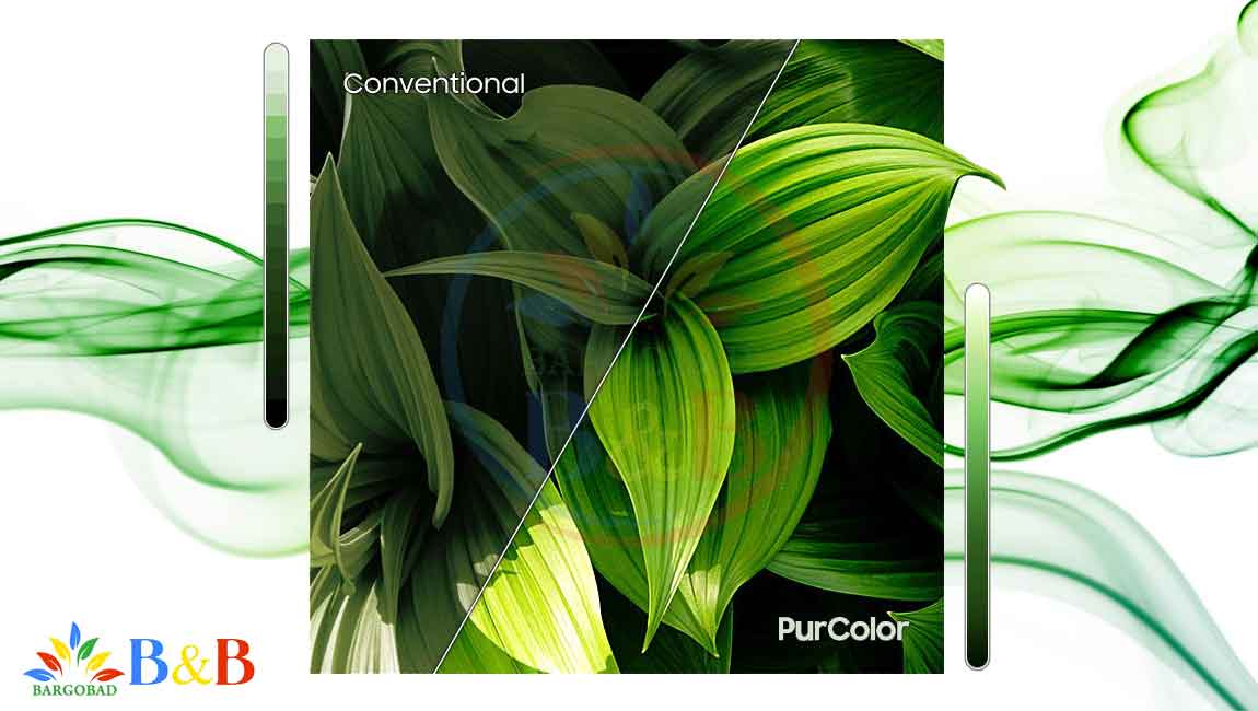 فناوری تصویر PurColor در t5300