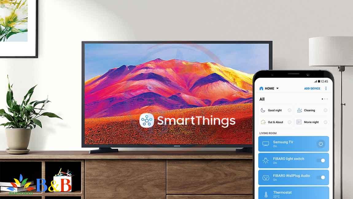 اتصال به لوازم هوشمند خانه با SmartThings