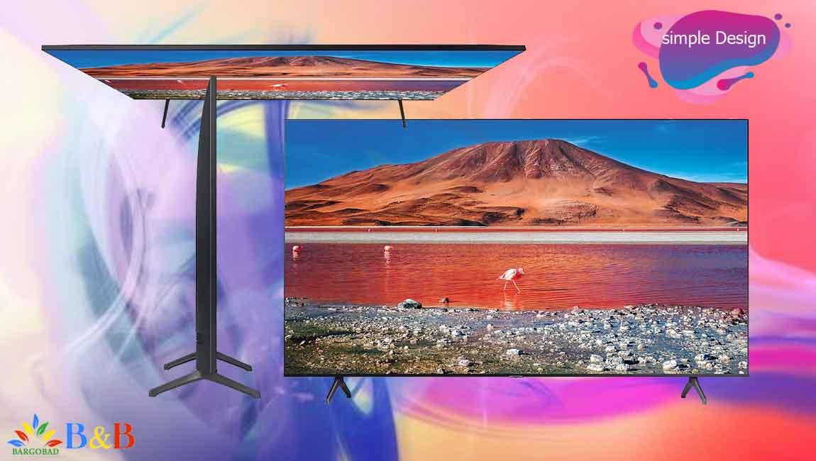 طراحی تلویزیون TU7000