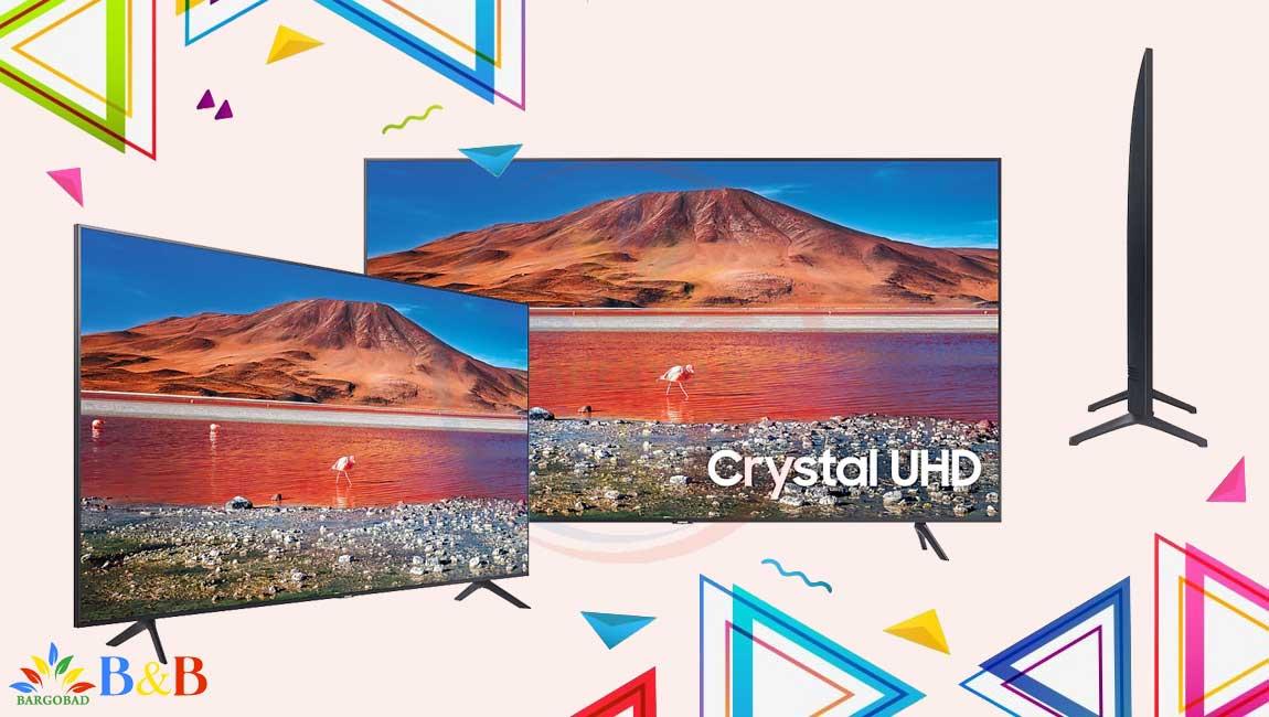 طراحی تلویزیون TU7100