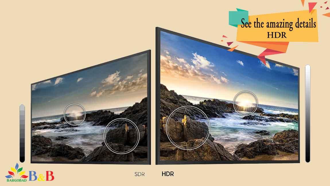 تلویزیون سامسونگ TU7172 با HDR