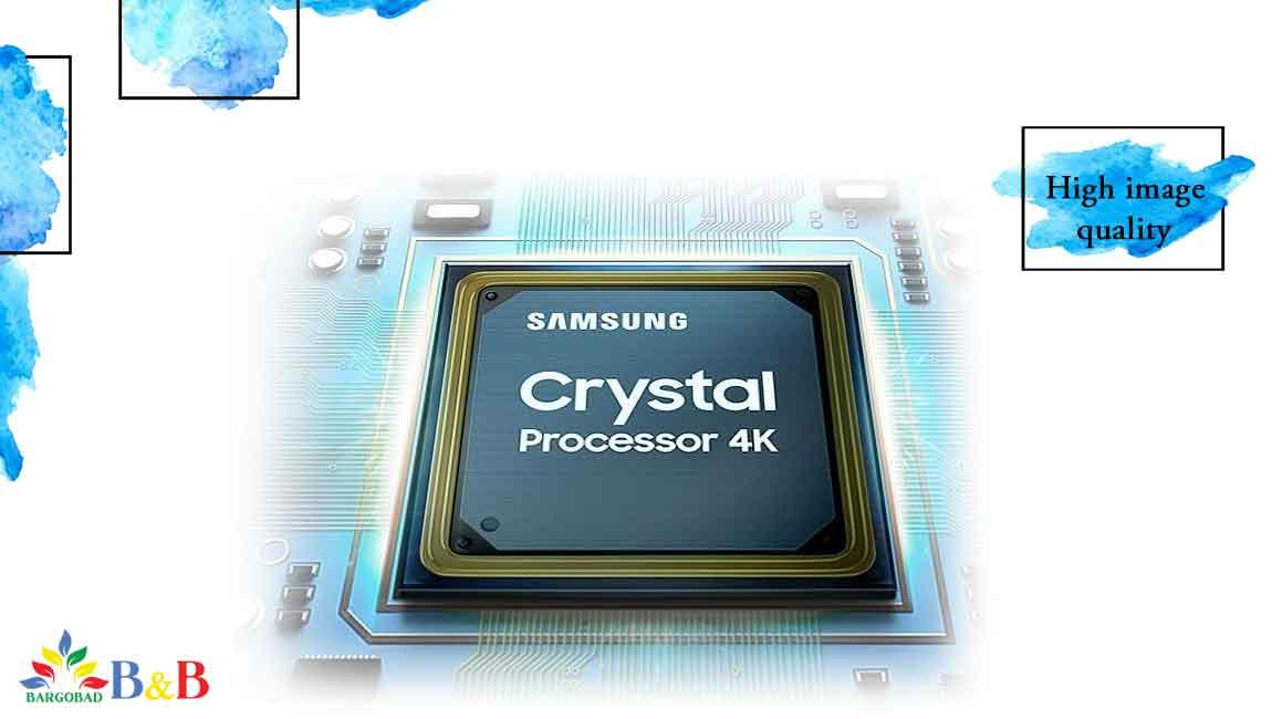 تلویزیون TU7172 با پردازنده Crystal