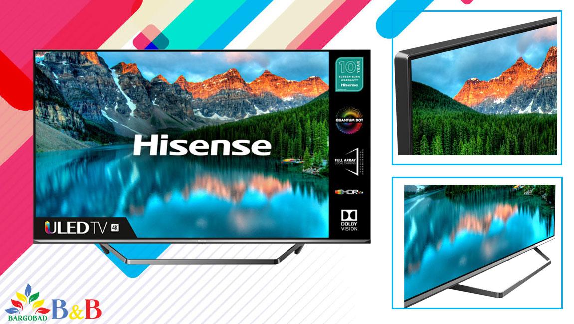 طراحی تلویزیون هایسنس U7QF