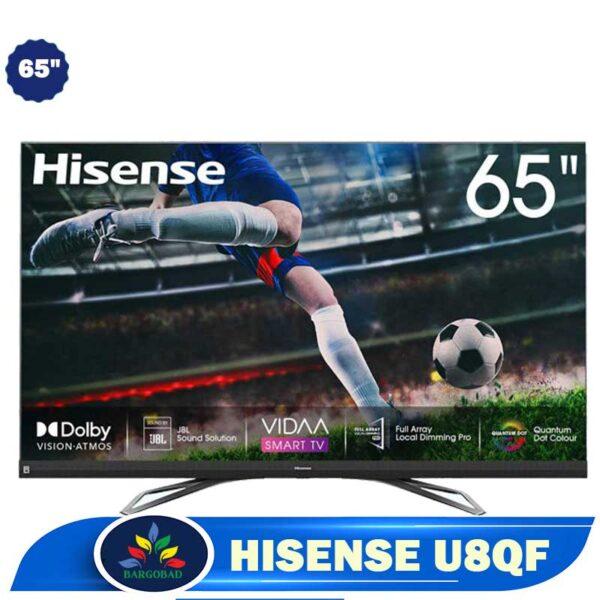 تلویزیون 65 اینچ هایسنس U8QF مدل65U8QF ساخت 2020