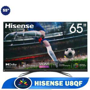 تلویزیون هایسنس 55u8qf